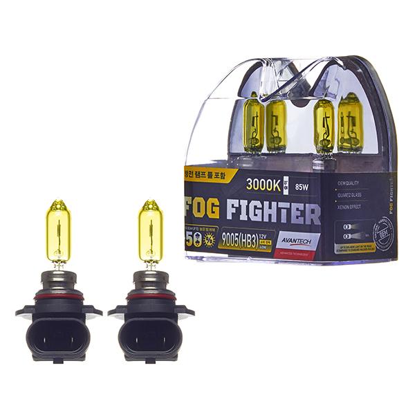 Лампа высокотемпературная Avantech HB3 12V 65W (85W) 3000K, комплект 2 шт.