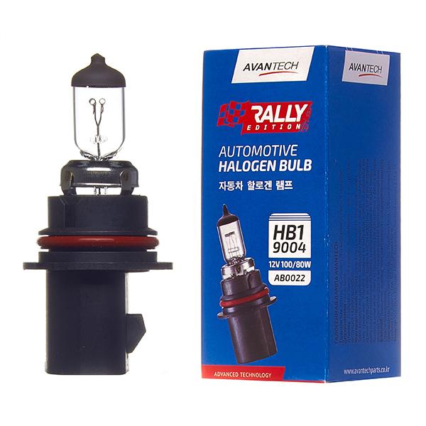 Лампа головного света Avantech 9004 (HB1) 12V 100/80W