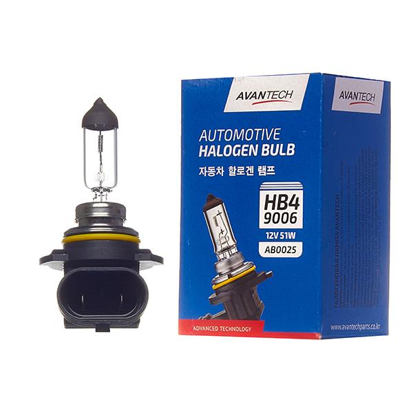 Лампа головного света Avantech 9006 (HB4) 12V 55W