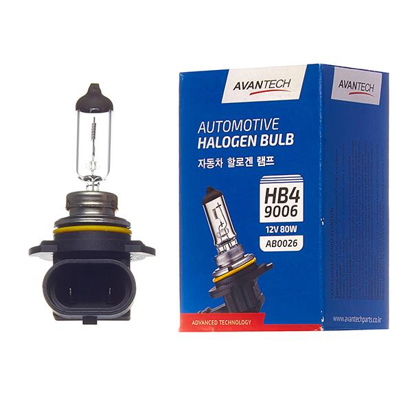 Лампа головного света Avantech 9006 (HB4) 12V 80W