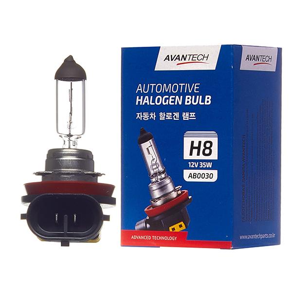 Лампа головного света Avantech H8 12V 35W