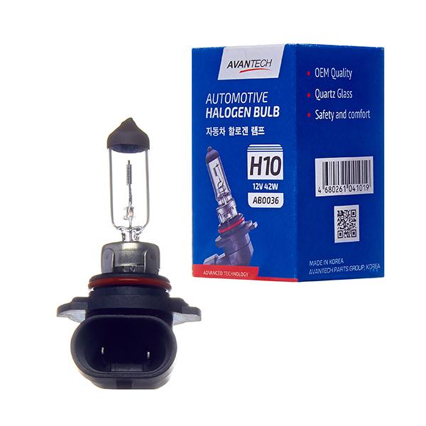 Лампа головного света Avantech H10 12V 42W