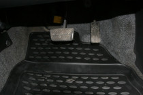 Коврики в салон HONDA Fit GD1 JDM, 06/2001–09/2007, П.Р., 4 шт. (полиуретан)